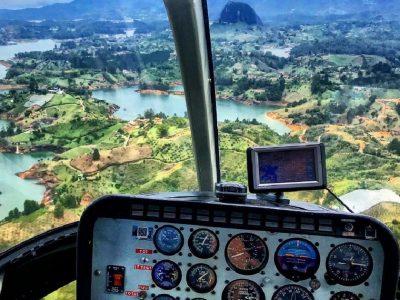 טיסה בשמי גואטפה